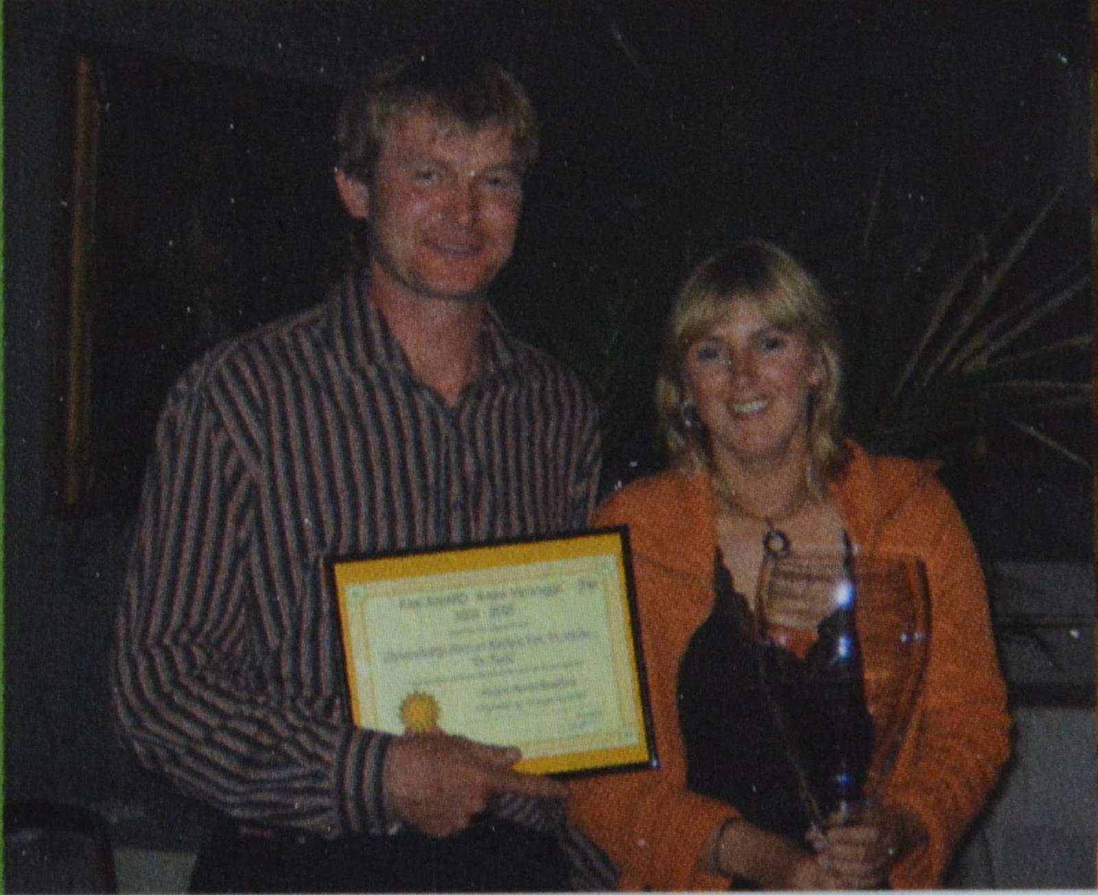 Hans en Katleen PAK award
